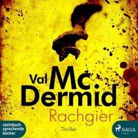 Rachgier, 2 MP3-CDs Hörbuch