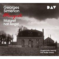 Maigret hat Angst, 4 Audio-CDs Hörbuch