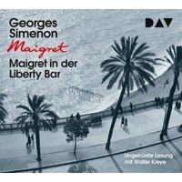 Maigret in der Liberty Bar, 3 Audio-CDs Hörbuch