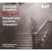 Maigret und Inspektor Griesgram, 1 Audio-CD Hörbuch