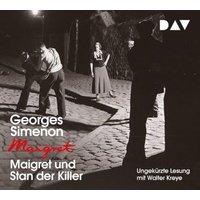 Maigret und Stan der Killer, 1 Audio-CD Hörbuch