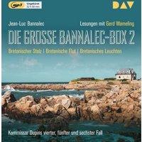 Die große Bannalec-Box 2, 3 MP3-CDs Hörbuch