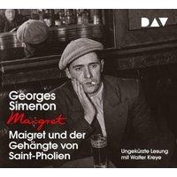 Maigret und der Gehängte von Saint-Pholien, 4 Audio-CDs Hörbuch