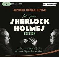 Die große Sherlock-Holmes-Edition, 2 Audio-CD, Hörbuch