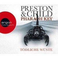 Pharaoh Key - Tödliche Wüste, 6 Audio-CDs Hörbuch