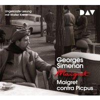 Maigret contra Picpus, 4 Audio-CD Hörbuch