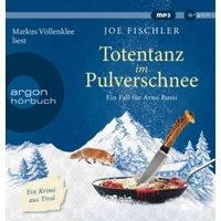 Totentanz im Pulverschnee, 1 Audio-CD, Hörbuch