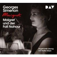 Maigret und der Fall Nahour, 4 Audio-CD Hörbuch