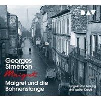 Maigret und die Bohnenstange, 4 Audio-CD Hörbuch