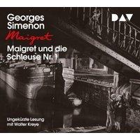 Maigret und die Schleuse Nr. 1, 4 Audio-CD Hörbuch