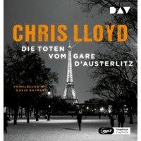 Die Toten vom Gare d`Austerlitz, 2 Audio-CD, Hörbuch
