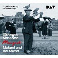 Maigret und der Spitzel, 4 Audio-CD Hörbuch