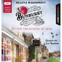 Bunburry - Zu tot, um schön zu sein, Audio-CD, Hörbuch