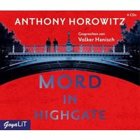 Mord in Highgate, 4 Audio-CD Hörbuch