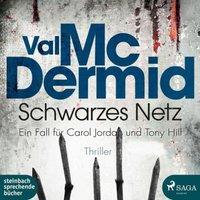 Schwarzes Netz, 2 MP3-CDs Hörbuch