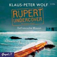 Rupert undercover. Ostfriesische Mission, 4 Audio-CD Hörbuch