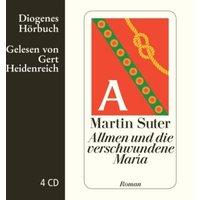 Allmen und die verschwundene Maria, 4 Audio-CD Hörbuch