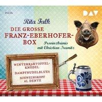 Die große Franz-Eberhofer-Box, 12 Audio-CDs Hörbuch
