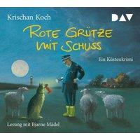 Rote Grütze mit Schuss, 4 Audio-CDs Hörbuch