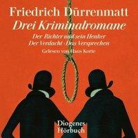 Drei Kriminalromane, 11 Audio-CD Hörbuch