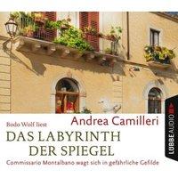 Das Labyrinth der Spiegel, 4 Audio-CDs Hörbuch