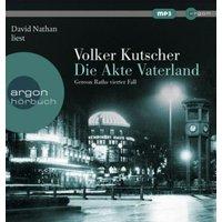 Die Akte Vaterland, 1 Audio-CD, Hörbuch
