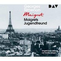 Maigrets Jugendfreund, 4 Audio-CDs Hörbuch