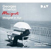 Maigret in Kur, 4 Audio-CD Hörbuch