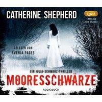 Mooresschwärze, 1 Audio-CD, Hörbuch