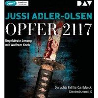 Opfer 2117, 2 Audio-CD, Hörbuch