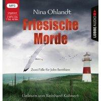 Friesische Morde, 2 Audio-CD, Hörbuch