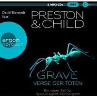 Grave - Verse der Toten, 2 Audio-CD, Hörbuch