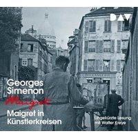 Maigret in Künstlerkreisen, 4 Audio-CDs Hörbuch
