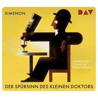 Der Spürsinn des kleinen Doktors. Vier Kriminalfälle, 4 Audio-CD Hörbuch