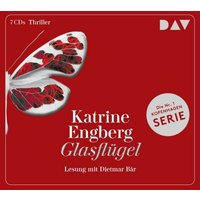 Glasflügel. Ein Kopenhagen-Thriller, 6 Audio-CD Hörbuch