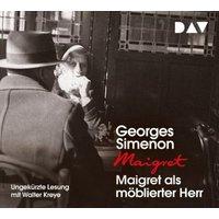 Maigret als möblierter Herr, 4 Audio-CD Hörbuch