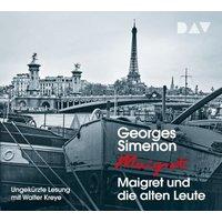 Maigret und die alten Leute, 4 Audio-CD Hörbuch