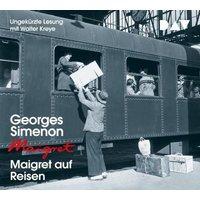 Maigret auf Reisen, 4 Audio-CD Hörbuch