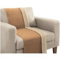 Biederlack Sessel- und Sofaschoner Baumwollmischung Aura Trend braun