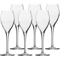 Original Champagnerglas von Taittinger 6er Set Sektgläser transparent