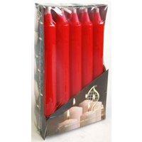 GALA 10er-Set Stabkerzen Ø2 cm, H19 cm rot