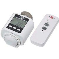 Brennenstuhl Funk Heizkörperthermostat für Brematic Pro mit Funkfernbedienung und Heizungs-Ventilada