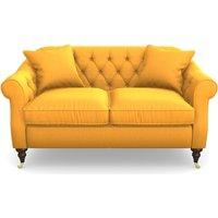 Abbotsbury 2.5 Seater Sofa in Clever Matt Velvet- Mango