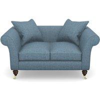Clavering 2 Seater Sofa in House Plain- Cobalt