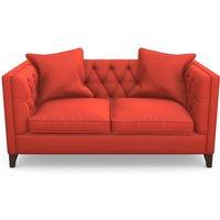 Haresfield 2 Seater Sofa in Clever Matt Velvet- Coral
