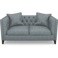 Haresfield 2 Seater Sofa in Mottled Linen Cotton- Cloud
