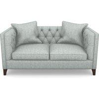 Haresfield 2 Seater Sofa in Mottled Linen Cotton- Lightening