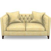 Haresfield 2 Seater Sofa in Textured Plain- Corn
