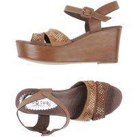 TWO 6 TWO SHOES FOOTWEAR Sandals Women on YOOX.COM Khaki