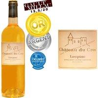 Château du Cros Loupiac 2010 . Médaille d'argent concours de Bordeaux